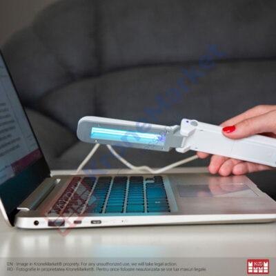 Lampă UVC pentru sterilizare suprafețe mici