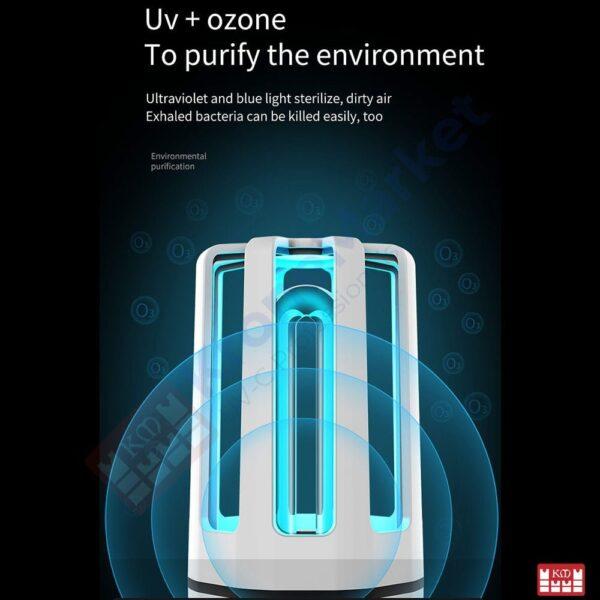 Sterilizator UVC cu Ozon KMK-A4