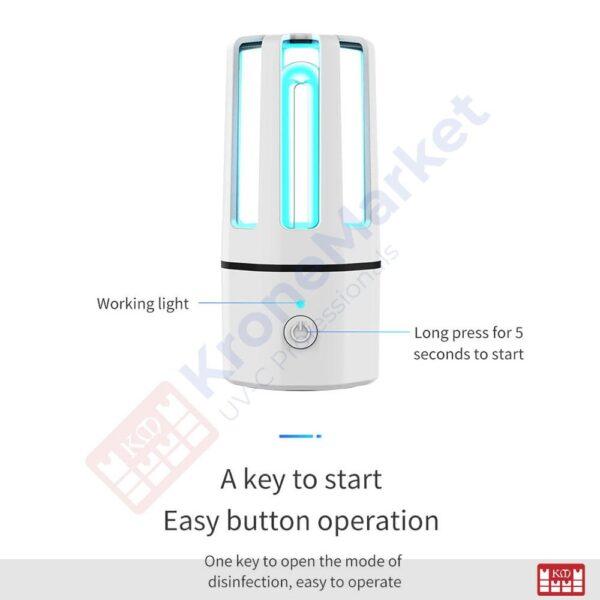 Indicații utilizare lampă sterilizatoare KMK-A4