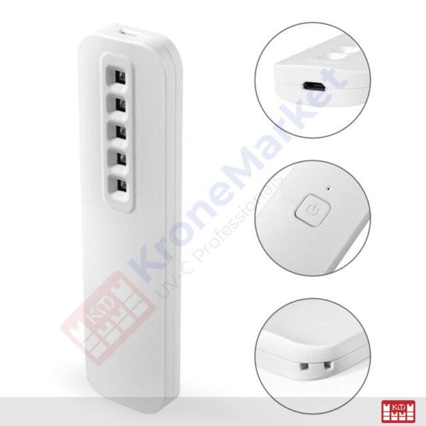 Funcţii Lampă UVC portabilă KMK-A5